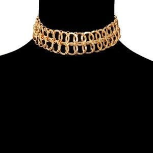 Jewelry - Double Chains Choker